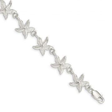 Quality Gold Sterling Silver Starfish Bracelet