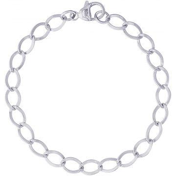 Sterling Silver 7 Inch Charm Bracelet