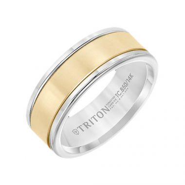 Triton Classic Tungsten Carbide Wedding Band