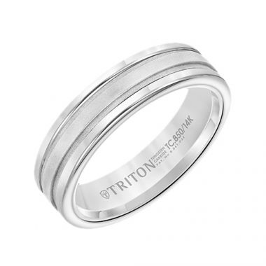 Triton Classic Tungsten Carbide Wedding Band