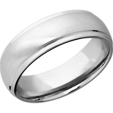 Lashbrook 14k White Gold Men's Wedding Band