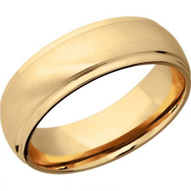 Lashbrook 14k Yellow Gold 7mm Men's Wedding Band