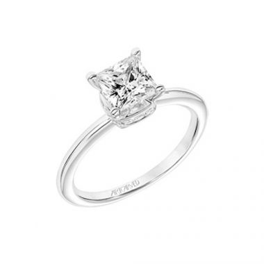 ArtCarved Solitaire Diamond Engagement Ring