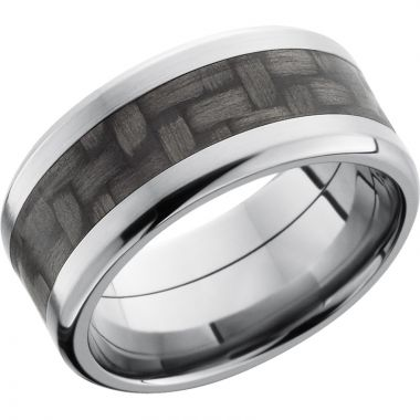 Lashbrook Titanium 10mm Men's Wedding Band