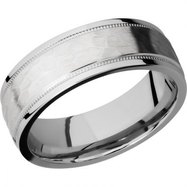 Lashbrook Cobalt Chrome 7.5mm Men's Wedding Band