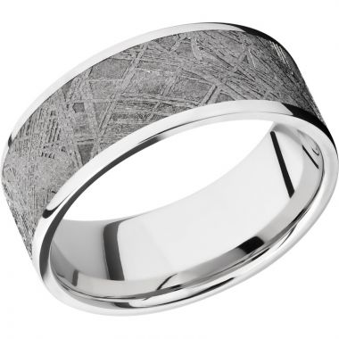 Lashbrook Cobalt Chrome Meteorite 9mm Men's Wedding Band